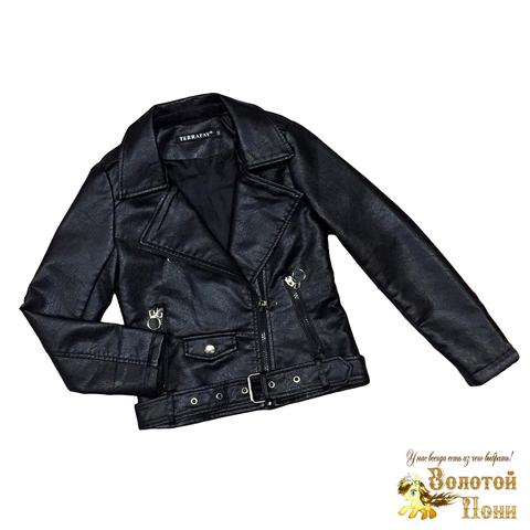 Куртка экокожа девочке (5-9) 200310-NA102