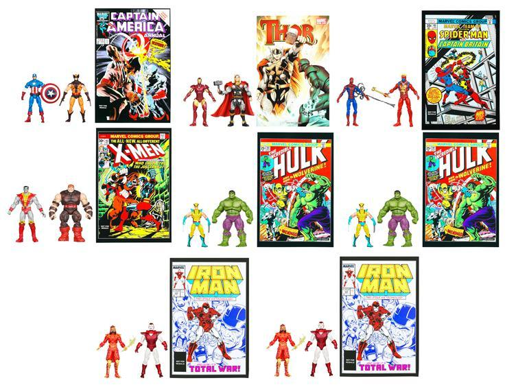 Greatest Battles Comic Two-Packs 2012 Wave 01