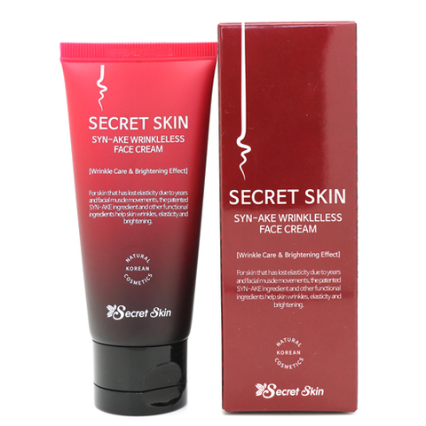 Крем для лица со змеиным пептидом Secret Skin Syn-ake Wrinkleless Face Cream