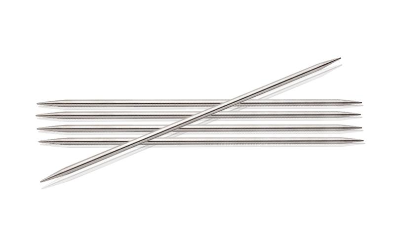 Спицы KnitPro Nova Metal чулочные 2 мм/15 см 10101