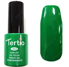 TERТIO ГЕЛЬ ЛАК Т 059 яркий, травяной, зеленый, без блесток и перламутра, плотный.