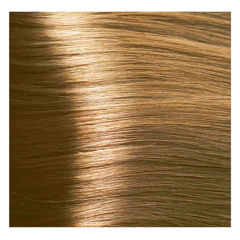 Крем краска для волос с гиалуроновой кислотой Kapous, 100 мл - HY 8.33 Светлый блондин интенсивный
