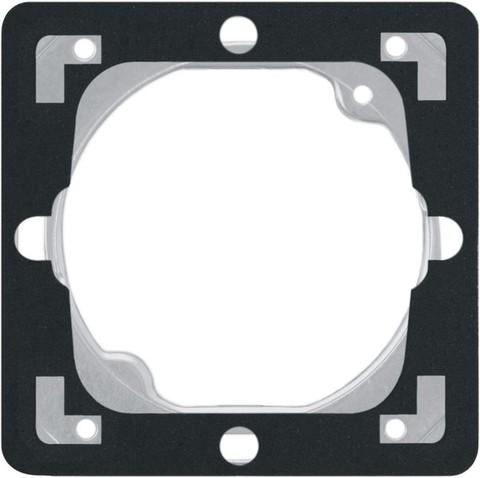 Вставка уплотнительная для выключателей IP-44. Цвет Антрацит. Ospel. Impresja. ZU-1Y