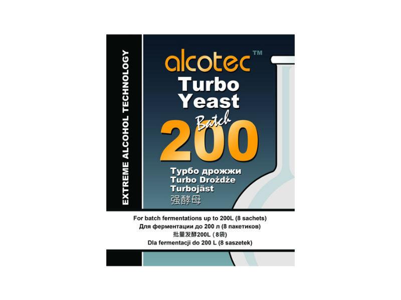 Дрожжи спиртовые Спиртовые дрожжи Alcotec Batch 200, 86 г 9965_P_1490987798796.jpg