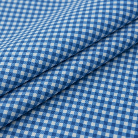 Ткань хлопок Марси синий