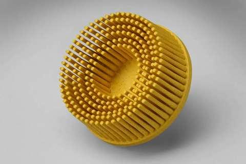 3М Зачистной круг Bristle желтый (средний) 50мм