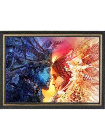 День и Ночь - мозаичная картина