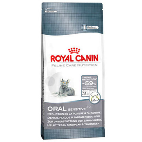 R.С. Орал Сенситив 30 д/кошек уход за полостью рта 1,5кг*6