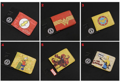 DC Comics Marvel Wallet Set 6