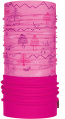 Шарф-труба трансформер Buff Polar Woods Pink
