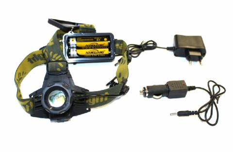 Светодиодный аккумуляторный налобный фонарик HL-K13