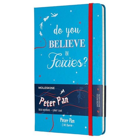 Блокнот Moleskine Limited Edition PETER PAN LEPN01DQP060 Large 130х210мм 240стр. линейка Fairies