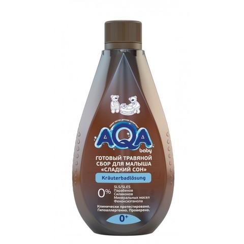 AQA baby. Травяной сбор для купания малышей Сладкий сон, 400 мл