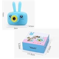 игрушечный детский фотоаппарат с чехлом зайчик размеры