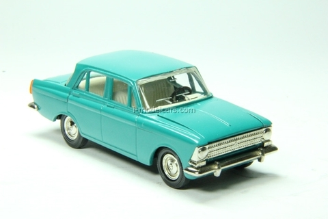Moskvich-408 turquoise Agat Mossar Tantal 1:43
