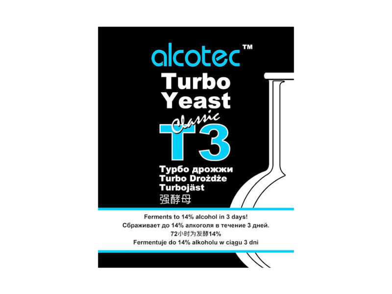 Дрожжи спиртовые Спиртовые дрожжи Alcotec Turbo 3, 120 г 9967_P_1490988243212.jpg