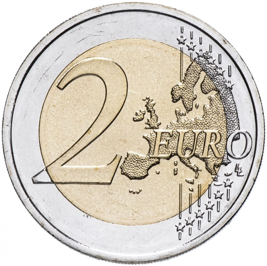 2 евро. 150-летие первого фестиваля песни. Эстония. 2019 год
