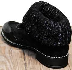 Женские туфли ботильоны Kluchini 5161 k255 Black