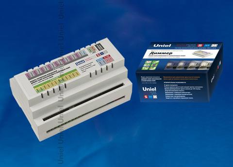 UCH-M131RC/0808 Диммер ламп накаливания, RS485 порт, возможно управление контроллером, 8 входов/ 8 выходов