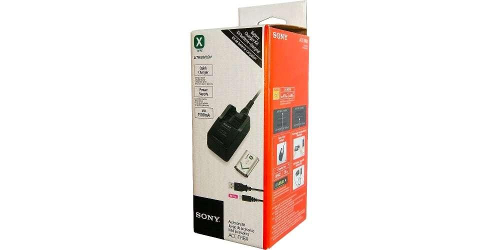 Зарядное устройство Sony (ACC-TRBX) упаковка