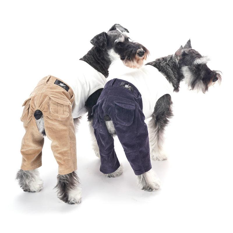 вельветовые брюки для собак