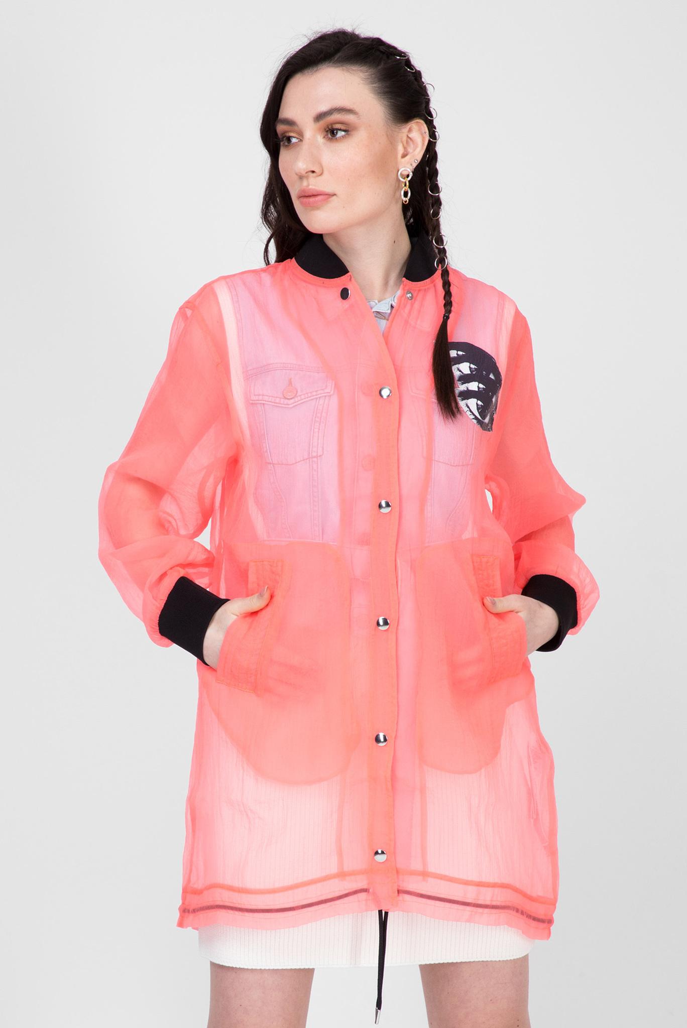 Женская розовая ветровка G-CLAY Diesel