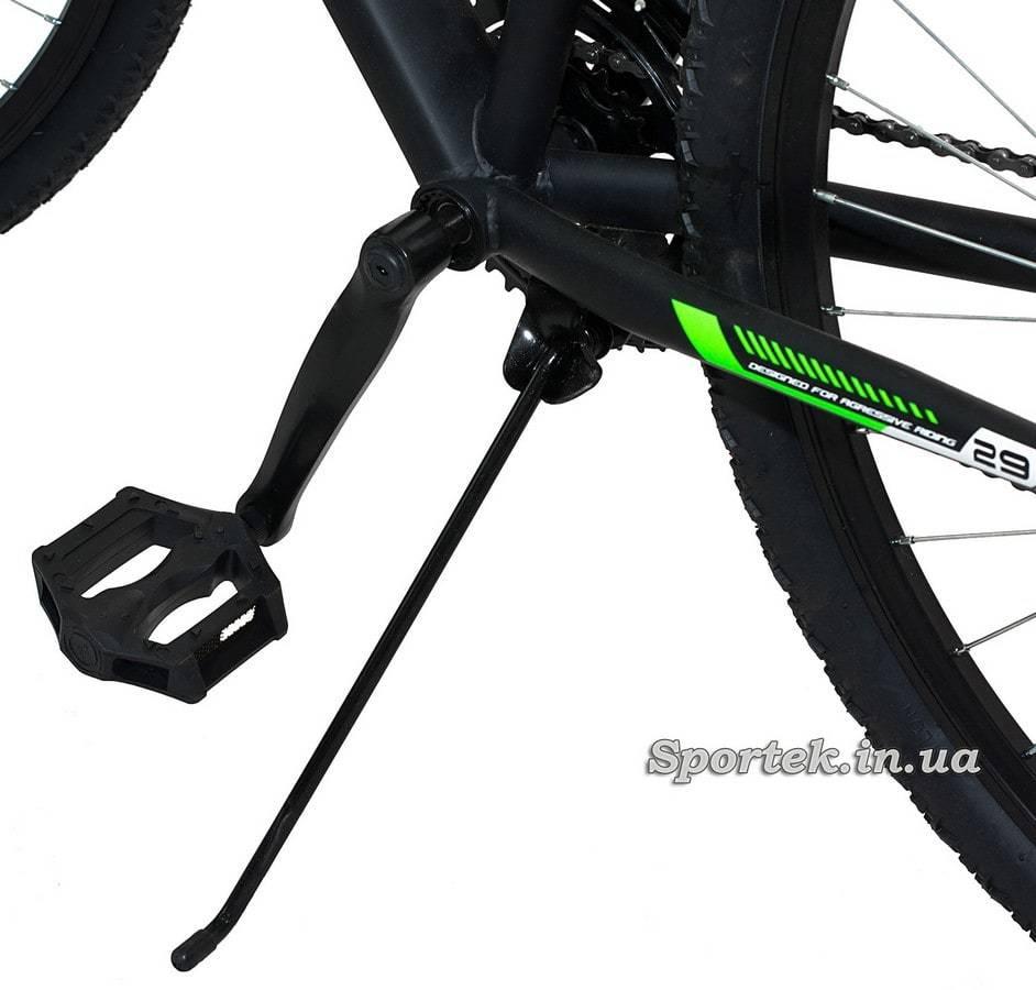 Подножка и педаль горного мужского велосипеда Formula Atlant DD 2015 (Формула Атлант)