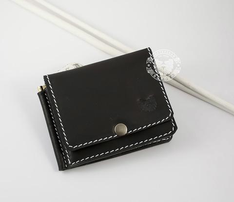 WB120 Мужской кошелек с зажимом для купюр и дополнительным отделением