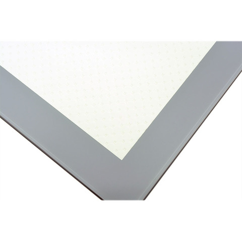 Стол ДАЛАСИ КОЖА Е-25 белый / стекло серое / подстолье титан / опора №3 хром / 110(170)х74см