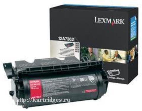 Картридж Lexmark 12A7362