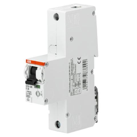 Автоматический выключатель 1-полюсный селективный 20 A, тип K, 25 кA S751DR-K20. ABB. 2CDH781010R0487