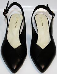 Красивые туфли босоножки Kluchini 5190 Black.