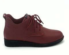 Ботинки нат. кожа  на шнурке
