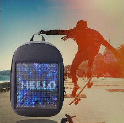 Рюкзак с LED экраном