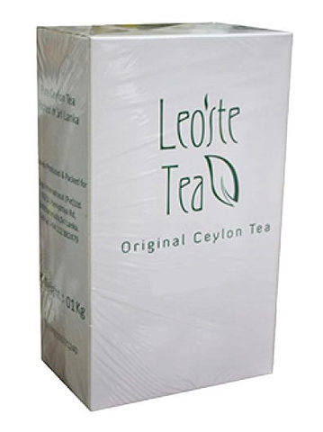Чай Leoste Black Tea FBOP with Cinnamon 1кг