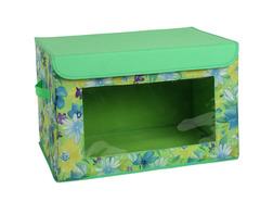 Органайзер для хранения цветы на зеленом