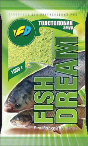 Прикормка Fish Dream (Фишдрим) Толстолобик амур
