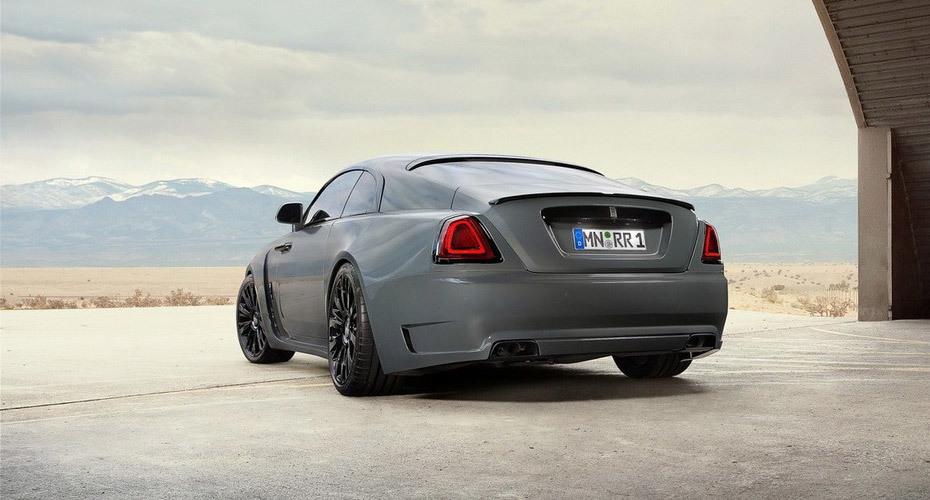 Обвес Novitec Overdose для Rolls-Royce Wraith