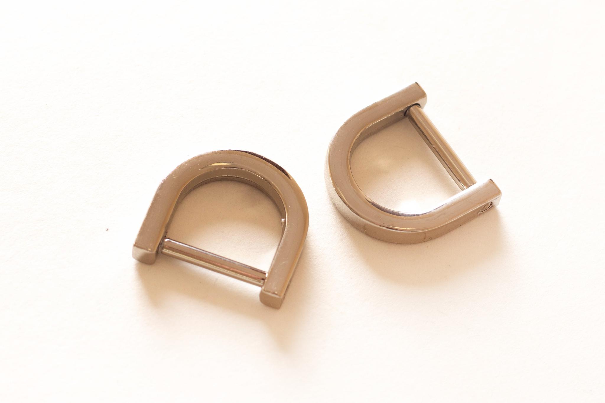 Ручкодержатель для сумки 15 мм, никель