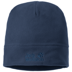 Шапка флисовая Jack Wolfskin Real Stuff Cap dark indigo