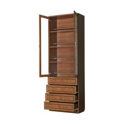 Шкаф для книг с ящиками (Гарун-204)