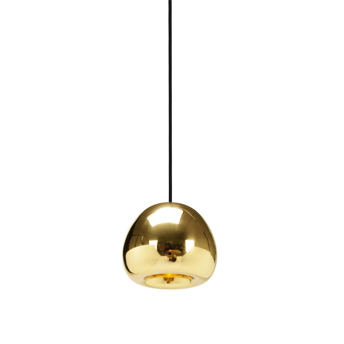 Подвесной светильник копия Void by Tom Dixon D15 (золотой)