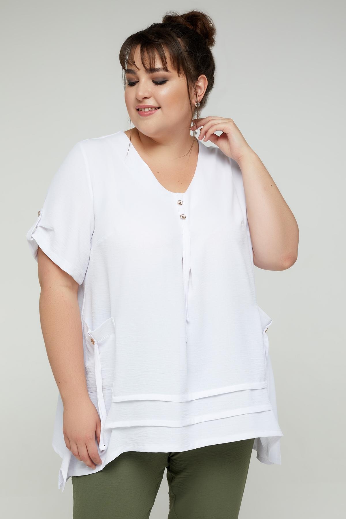 Блуза Амира (белый)