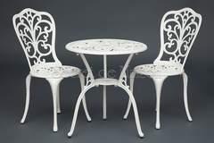 Комплект Secret De Maison Романс (Romance) (стол +2 стула) — butter white