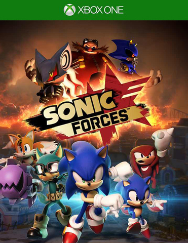 Xbox One Sonic Forces - Bonus Edition (русские субтитры)