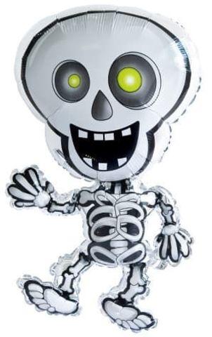 Фольгированный шар Танцующий скелет