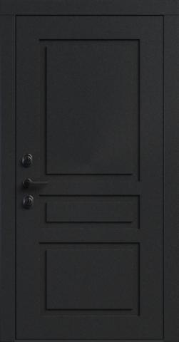 Входная дверь «NEO Classic 3» в цвете, Эмаль черный