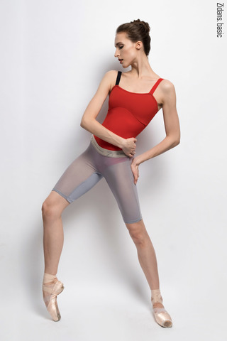 Translucent Ziphirus velo leggings Zilver | grey