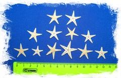 Сахарные морские звездочки 3 - 4 см 50шт.
