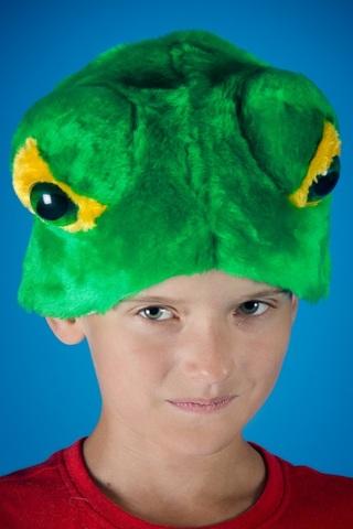 Карнавальная шапочка Лягушки